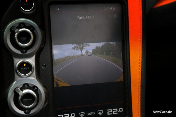 McLaren 720S Rückfahrkamera