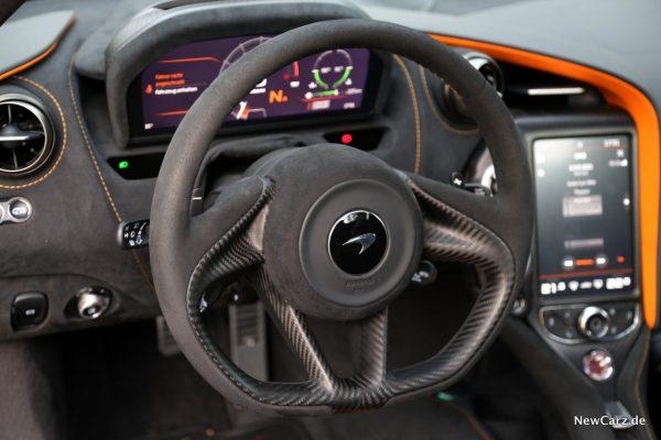 McLaren 720S Spider Lenkrad