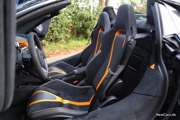 McLaren 720S Spider Sitze