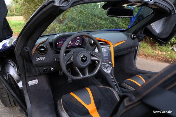 McLaren 720S Spider Interieur