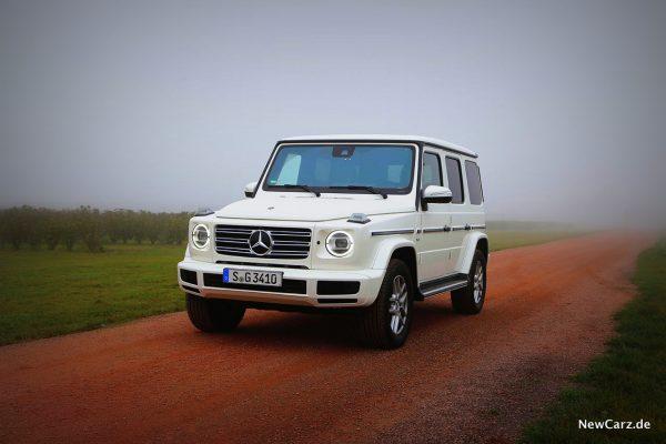 Mercedes-Benz G 500 schräg vorn links
