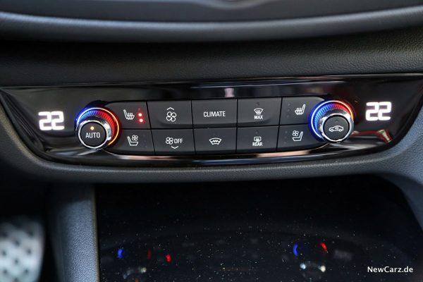Klimabedienteil Opel