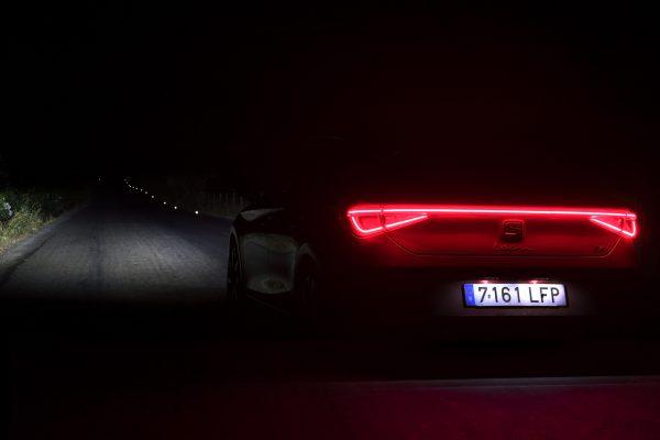 Seat Leon Lichttechnik Heck