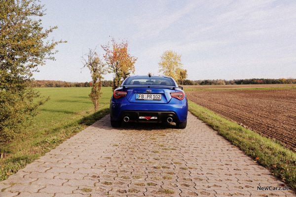 Subaru BRZ Final Edition Heck