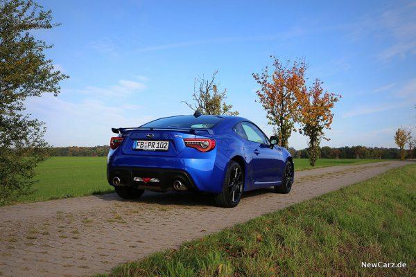 Subaru BRZ Final Edition schräg hinten rechts