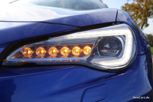 Hauptscheinwerfer Subaru Coupé