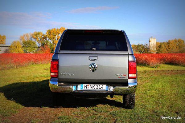 VW Amarok V6 TDI Heck