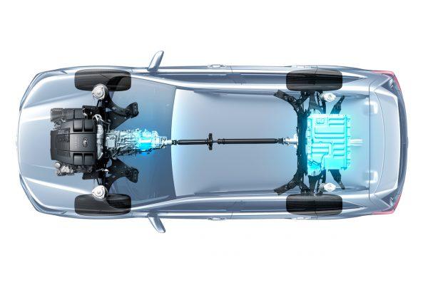 e-Boxer Antriebsstrang
