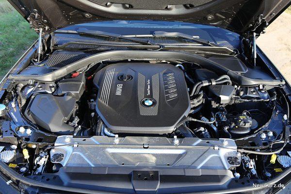Motorraum 3er BMW Sechszylinder