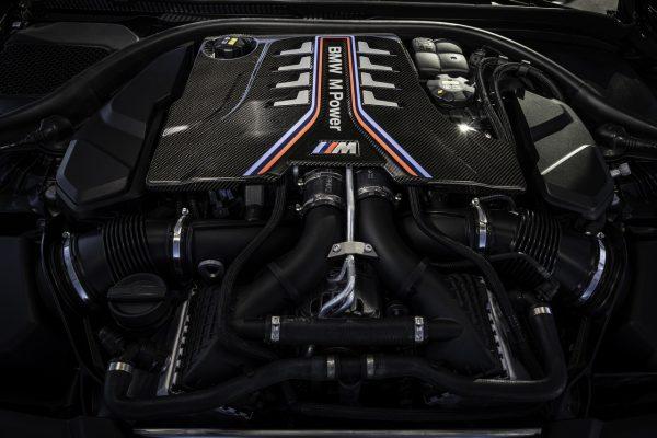 Motor V8 TwinPower Turbo