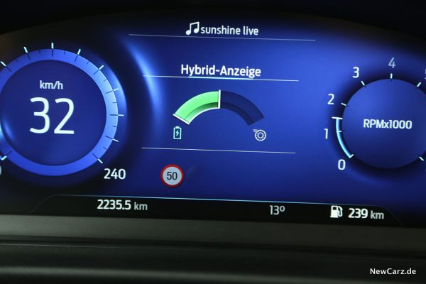 Hybrid-Anzeige