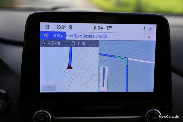 Routenführung Centerscreen