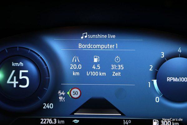 Sparrunde Ford Puma Verbrauch