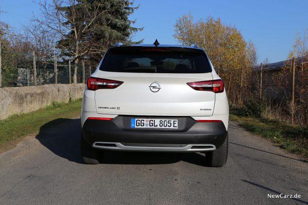 Opel Grandland X Hybrid Heck