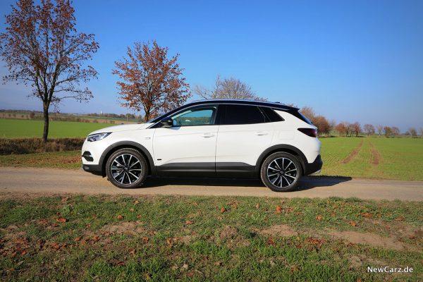 Opel Grandland X Hybrid Seite