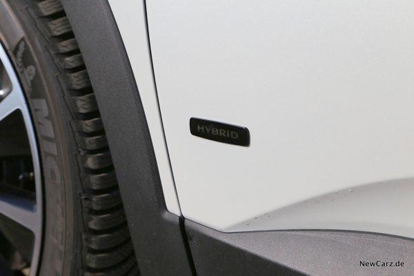 Hybrid-Plakette