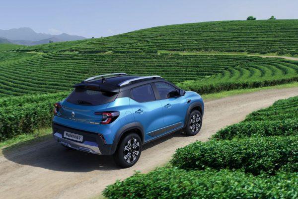 Renault Kiger schräg hinten rechts