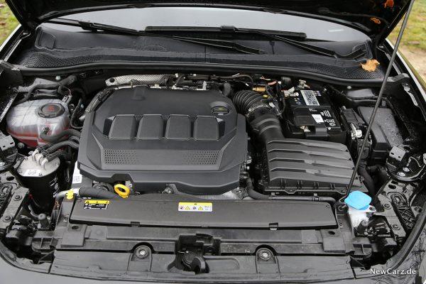 Motorraum 2.0 TDI
