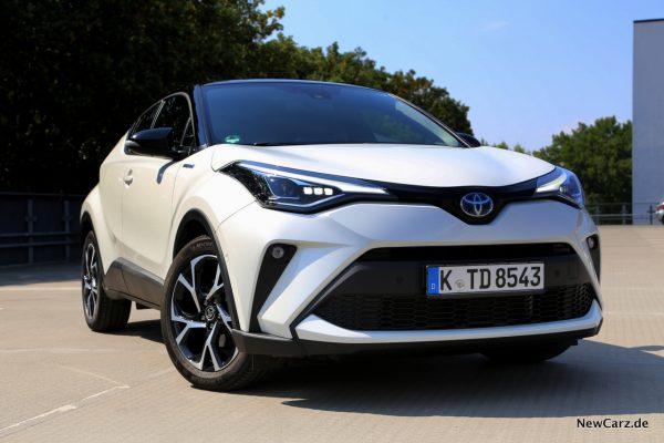 Toyota C-HR Facelift Weiß