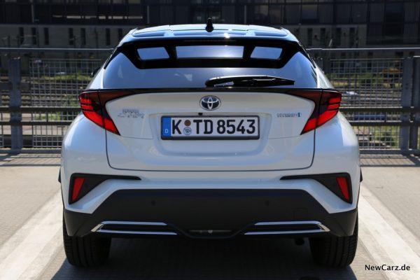 Toyota C-HR Facelift Heck