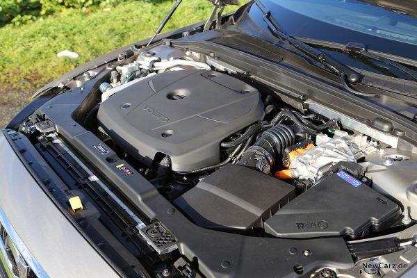 Volvo S60 T8 Recharge Motorraum