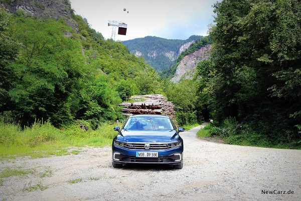 VW Passat GTE Variant in Südtirol