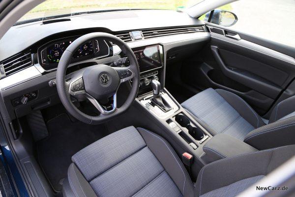 Interieur Passat GTE