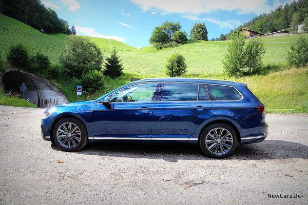 VW Passat GTE Variant Seite