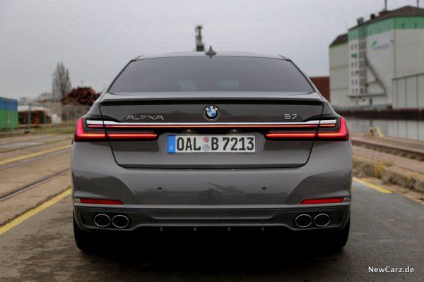 BMW Alpina B7 Heck