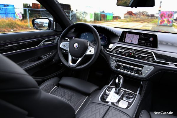 BMW Alpina B7 Innenraum