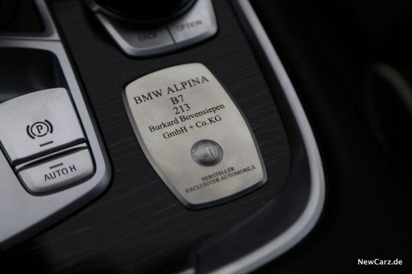 BMW Alpina Plakette