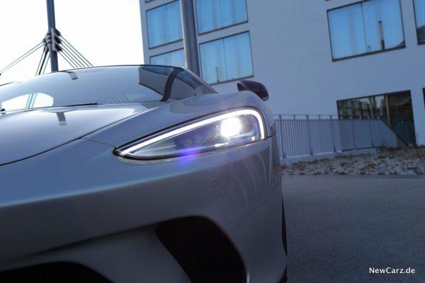 McLaren GT Scheinwerfer