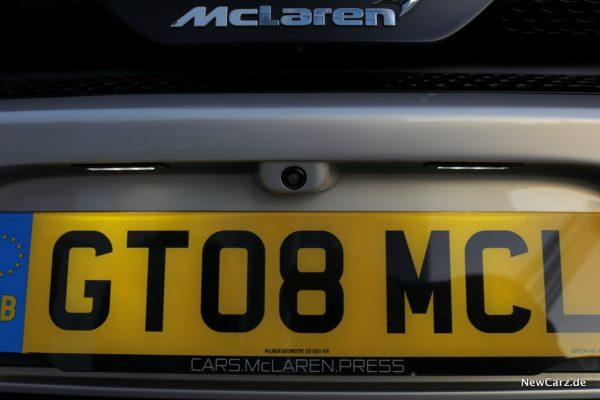 McLaren GT Rückfahrkamera