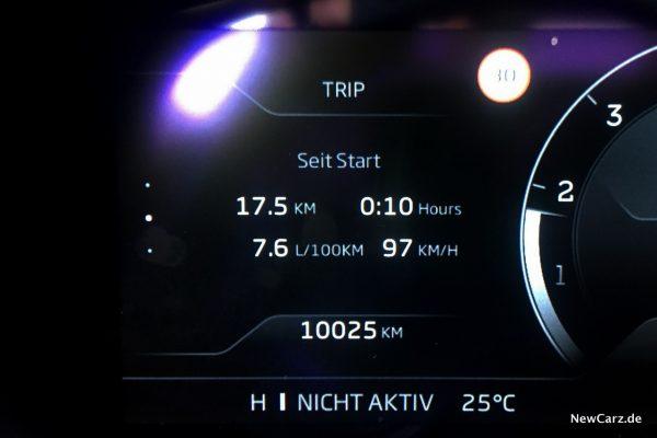 McLaren GT Verbrauch