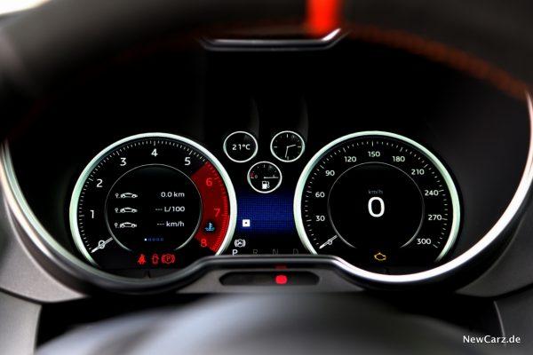 Digitales Cockpit A110