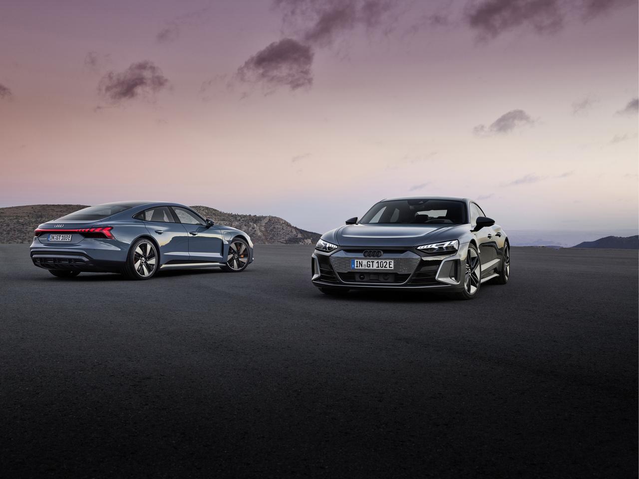 Audi e-tron GT und RS e-tron GT