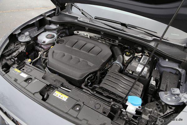 Motorraum Cupra VZ