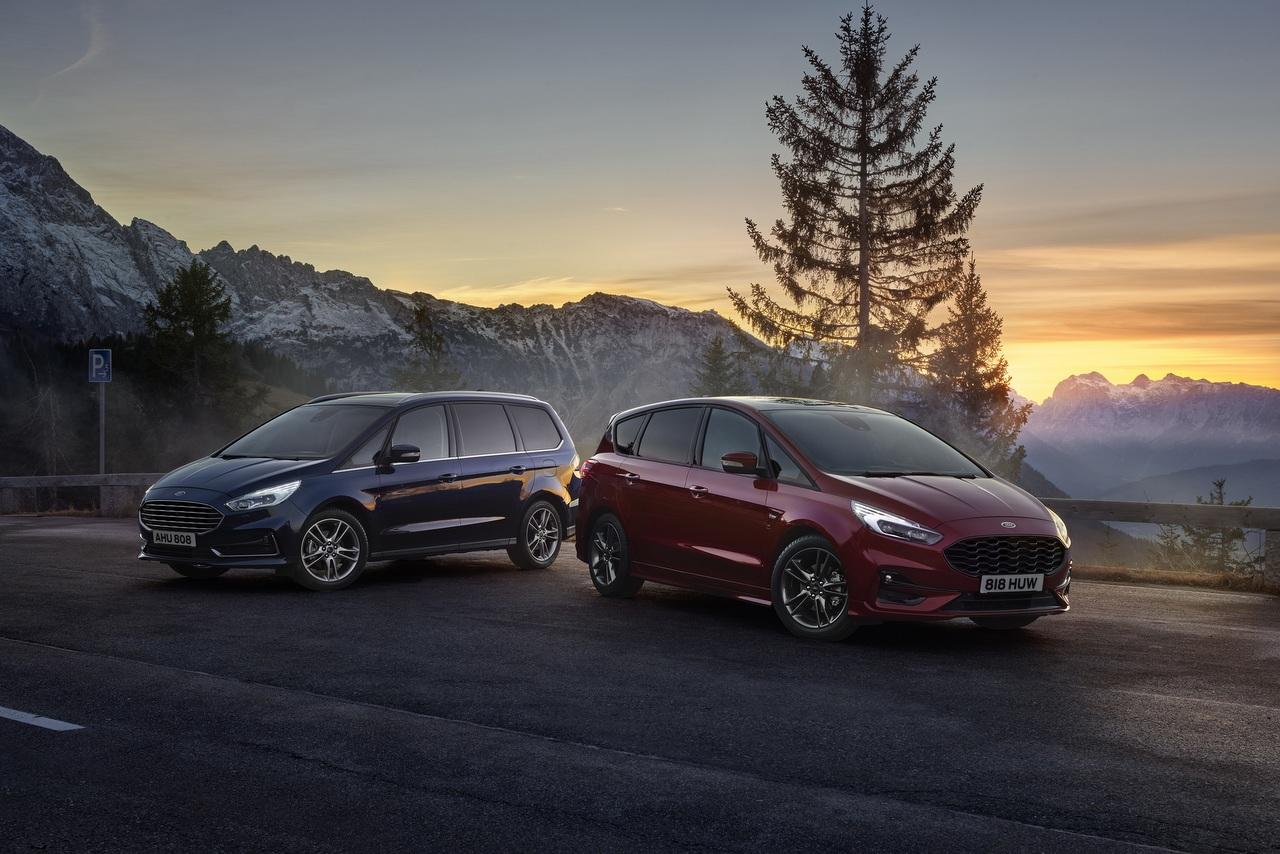 Ford S-MAX und Galaxy Hybrid