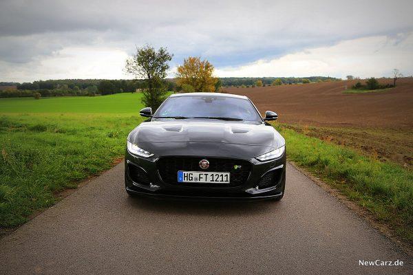 Jaguar F-Type R Frontbereich