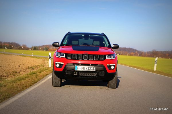 Jeep Compass 4xe Front