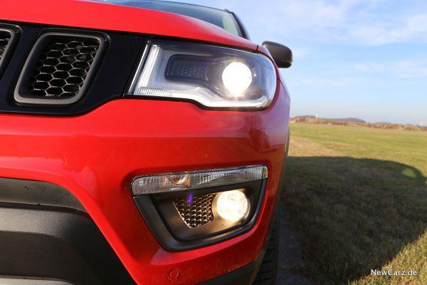 Leuchten Jeep Compass 4xe