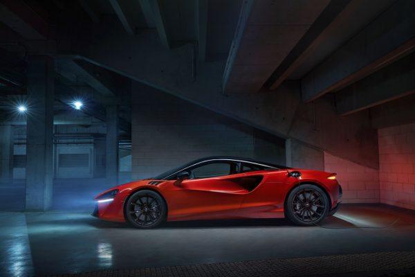 McLaren Artura Seite