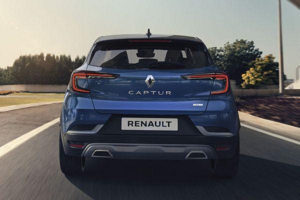 Renault Captur RS Line Heck