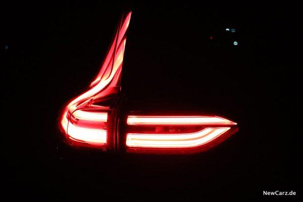 Lichtsignatur Heckleuchte
