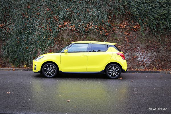 Suzuki Swift Sport Hybrid Seite