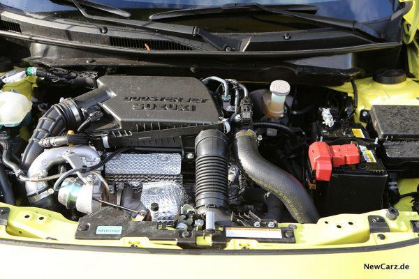 Motorraum Swift Sport Hybrid