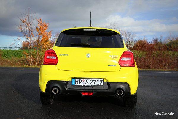 Suzuki Swift Sport Hybrid Heck