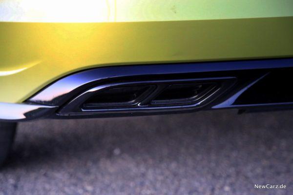 VW Abgasblenden