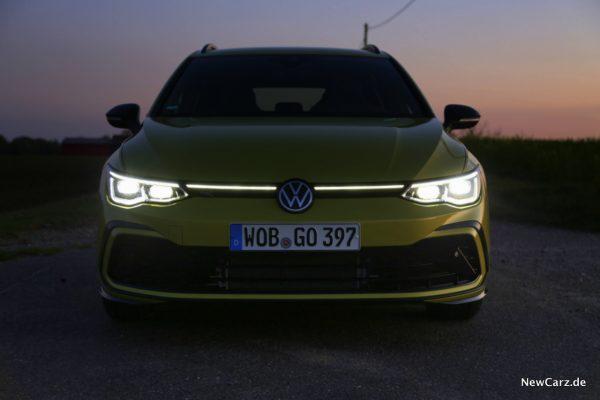 VW Golf 8 Variant Front