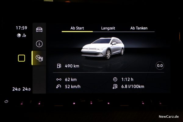 Volkswagen Golf Variant eTSI Verbrauch